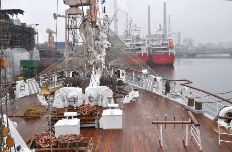 Na pokładzie El-Mellaha / fot. Krzysztof Romański
