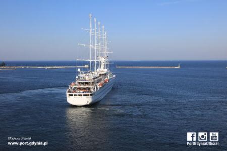 Wind Surf / fot. Tadeusz Urbaniak, Port Gdynia