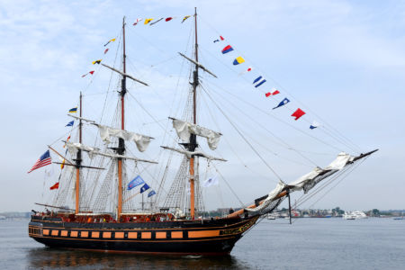 Oliver Hazard Perry / fot. Sail Boston Inc.
