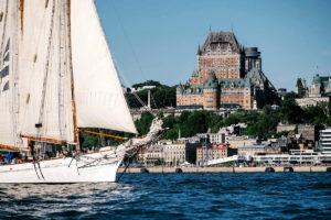 Parada w Quebecu podczas Rendez Vous 2017 Tall Ships Regatta