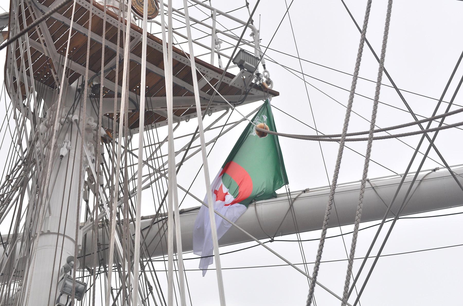 Podniesienie bandery na El Mellahu