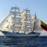 ARC Gloria - morski ambasador Kolumbii pod pełnymi żaglami