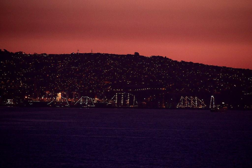 Wieczór w Valparaiso