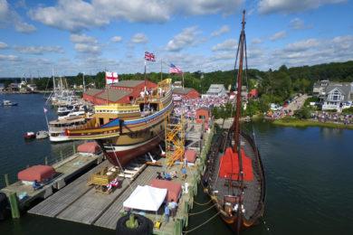 Mayflower wodowanie