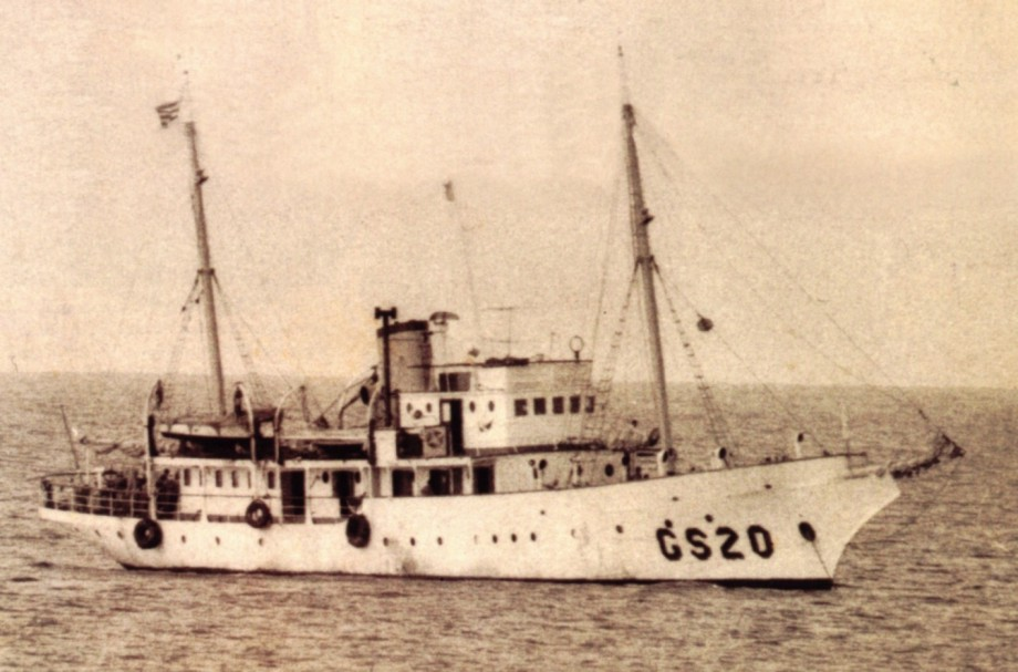 Zdjęcie z 1967 roku. Capitan Miranda jeszcze jako jednostka badawcza / fot. archiwum
