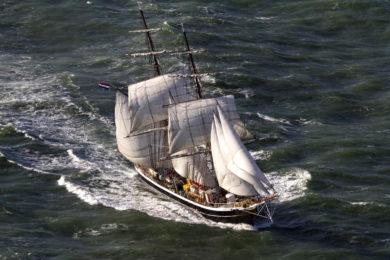 Holenderski bryg Morgenster / www.classic-sailing.co.uk