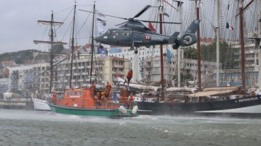 Pokaz ratownictwa morskiego