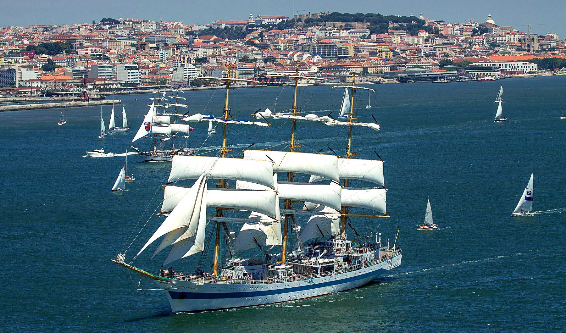 The Tall Ships Races 2016 w Lizbonie / fot. Joao Ferrand