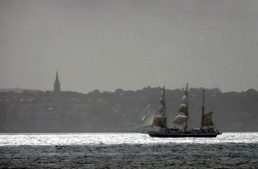 Ostatni rejs STS Lord Nelson / fot. Max Mudie / www.tallshipstock.com