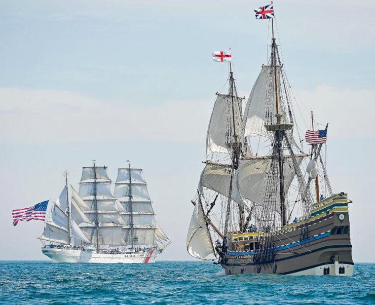 Eagle i Mayflower