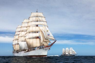 Sedov i Pallada / fot. Russian Sails