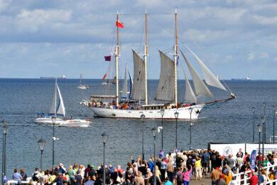 Parada żaglowców Baltic Sail Gdańsk